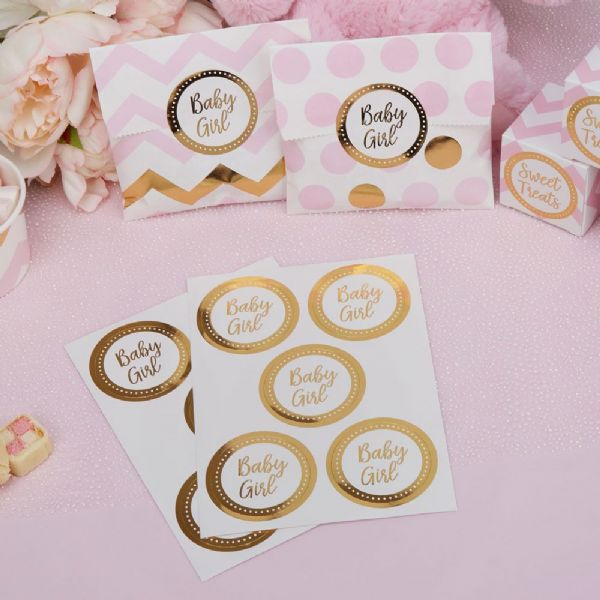 Pattern Works Baby Girl Stickers (25)